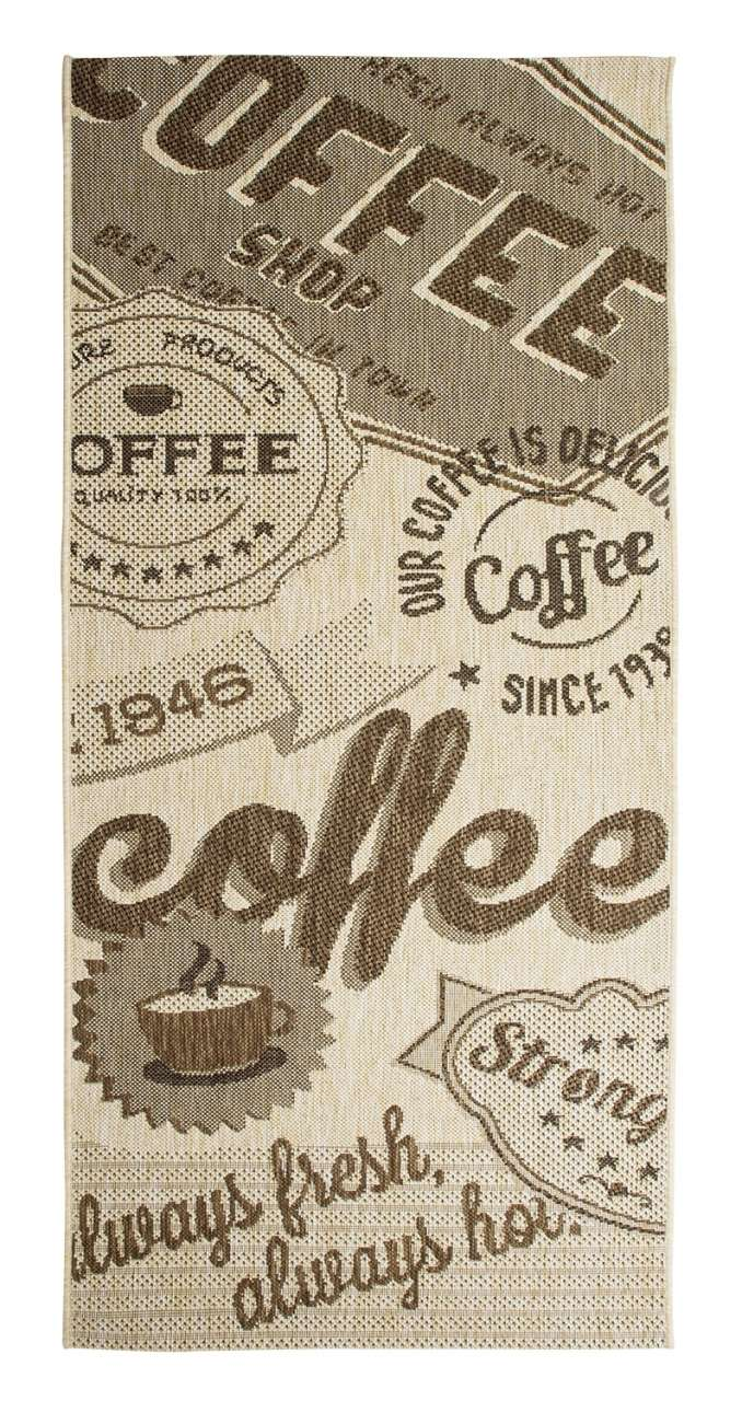 moebel-jack.de In- und Outdoorteppich COFFEE beige, 80x200 cm