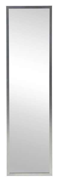 Spiegel, B 32 x H 120 cm, Rahmen in Edelstahloptik