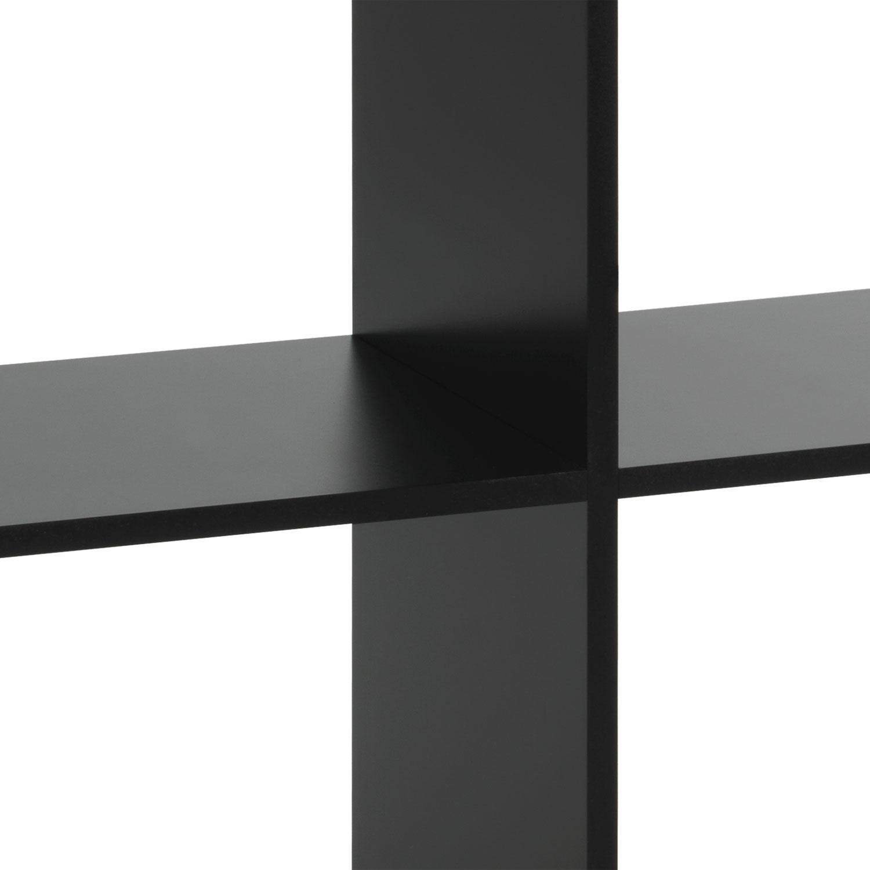 Raumteiler INDY 4, Schwarz matt