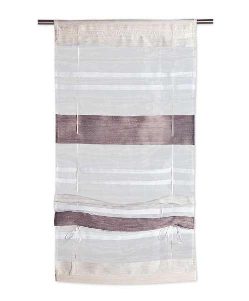 Raffrollo Beige-Schlamm, 60x130 cm