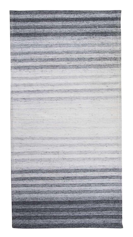 handwebteppich aus viskose in grau 120 x 170 cm venlo 1. Black Bedroom Furniture Sets. Home Design Ideas