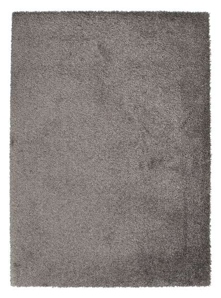 Teppich DELIGHT COSY 2, grau, trocknergeeignet, 80x150 cm