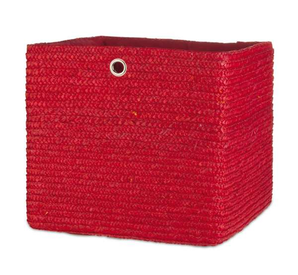 Aufbewahrungskorb KATHI rot, Rot