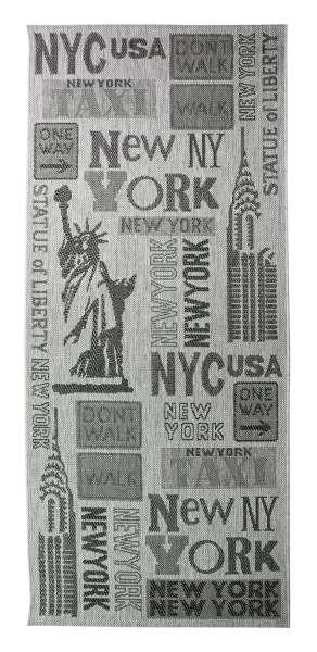 In- und Outdoorteppich NEW YORK, 80x200 cm