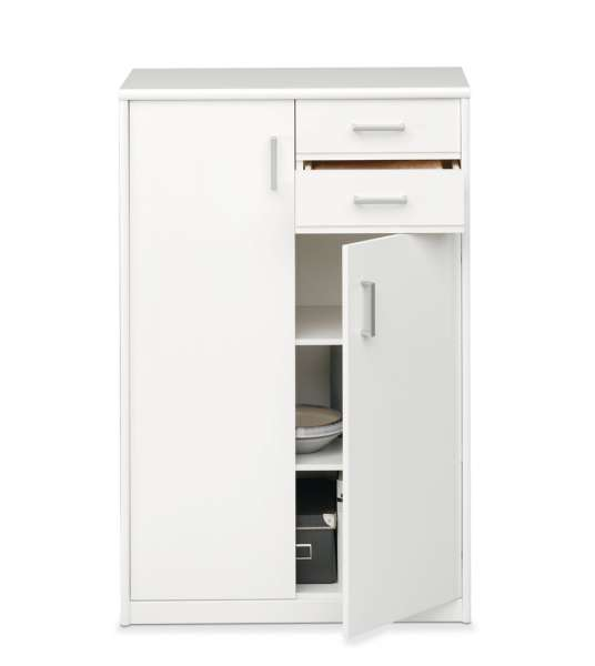 Kommode SARA 8, weiß, 72x110x36 cm