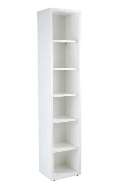 Bücherregal Weiß Hochglanz