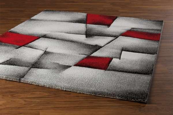 Teppich BRILLIANCE 13, Rot, 80x150 cm