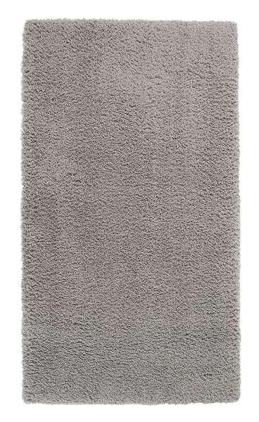 Teppich SMOOTH 3, B 65 x L 130 cm, Silberfarben, maschinengewebt