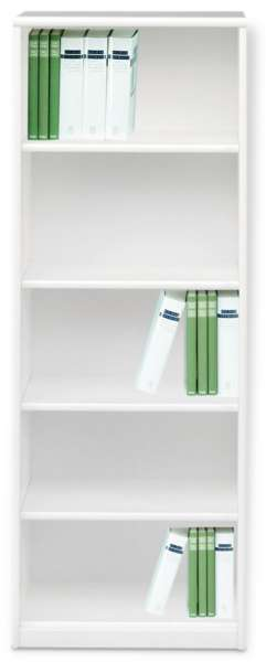 Bücherregal SARA 5, Reinweiß