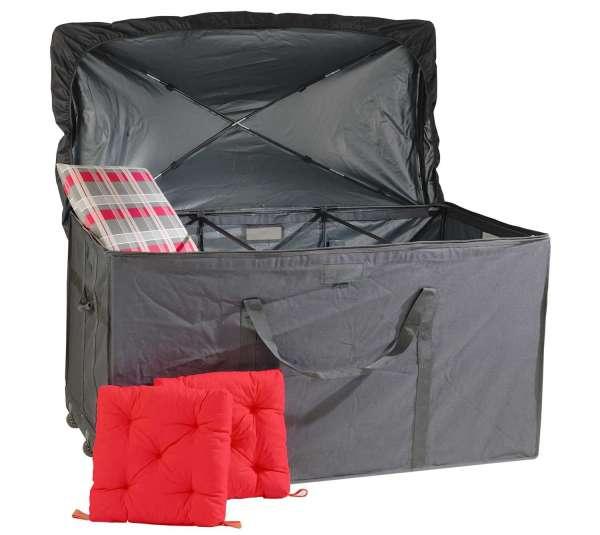 kissenbox aus stoff in anthrazit per m bel jack. Black Bedroom Furniture Sets. Home Design Ideas