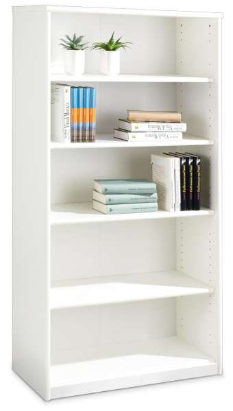 Bücherregal SARA 6, Reinweiß