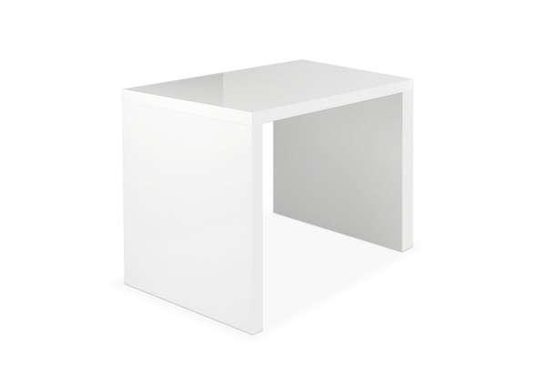 Schreibtisch EDANA 2, Hochglanz Weiß