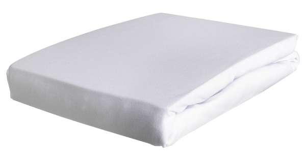 Topper-Spannbetttuch TOPPY 1, 140x200 cm, Weiß, Elastic-Jersey