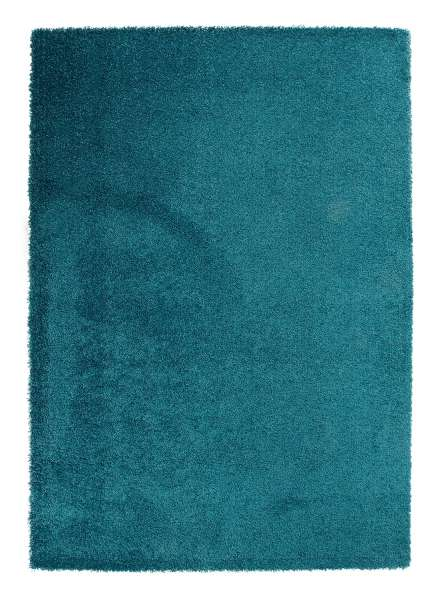 Teppich DELIGHT COSY 50, petrol, trocknergeeignet, 160x230 cm