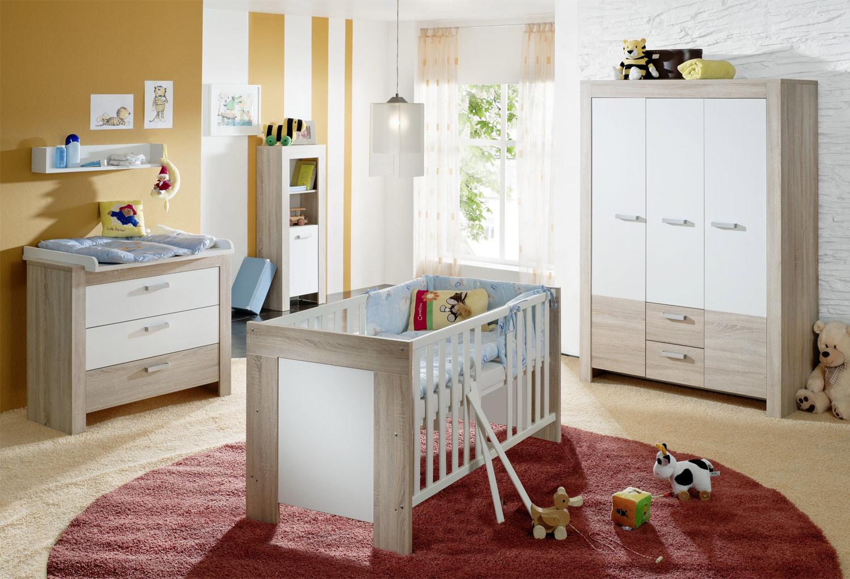 Babybettgestell BETTINA 1, Weiß