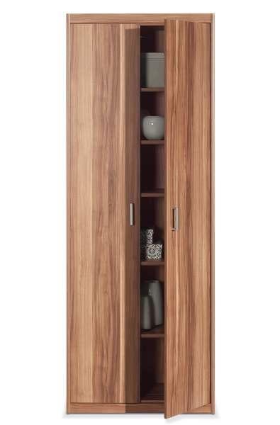 Hochschrank JEAN 2, Nussbaum, 2 Türen, 72x194x36 cm