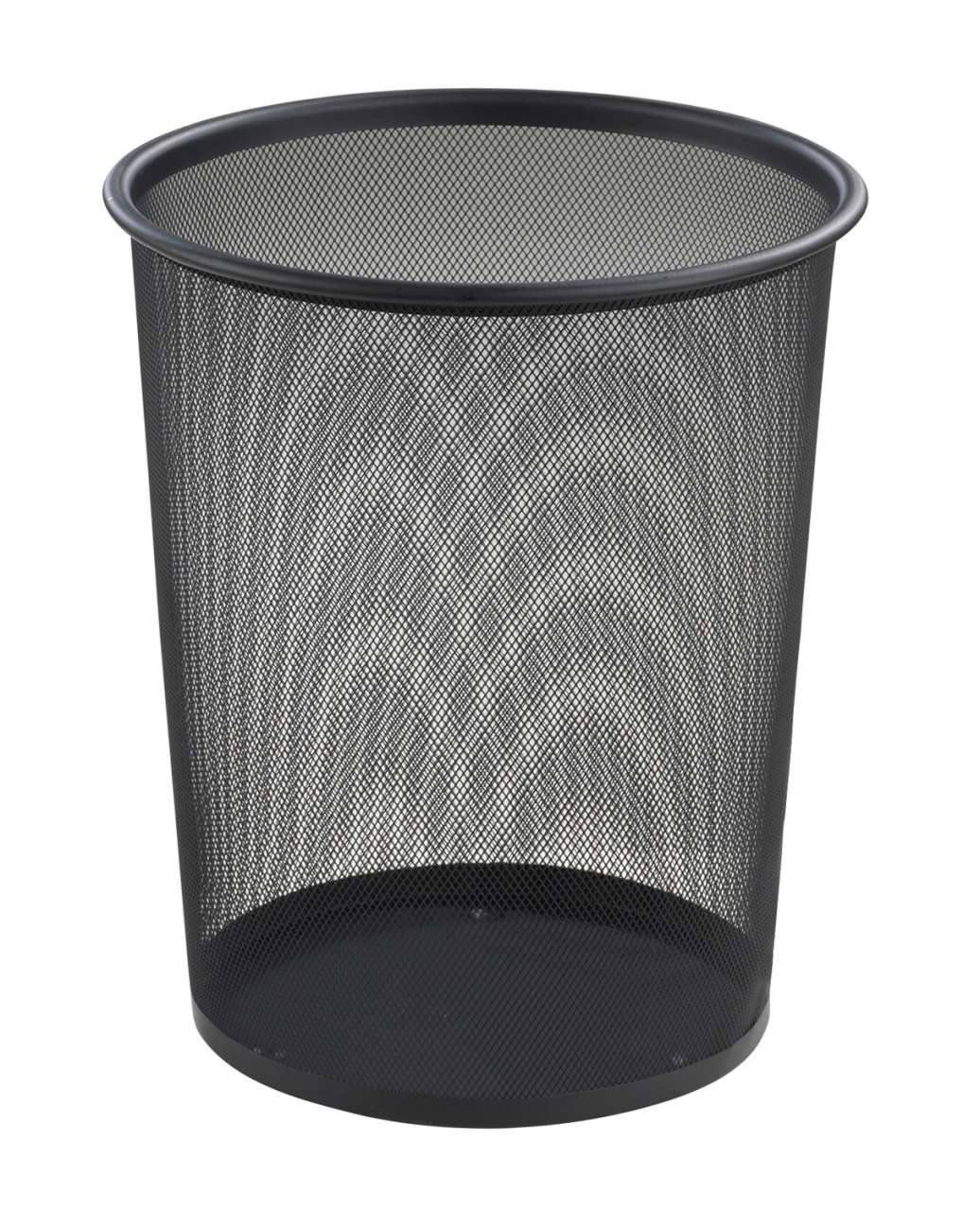 moebel-jack.de Papierkorb JACOB 1, Metallgeflecht schwarz, Höhe 35,5 cm