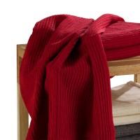 Handtuch ANINA 2, Rot, 50x100 cm