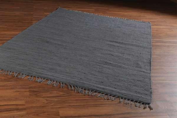 Teppich FRANKEN dunkelgrau, Dunkelgrau, 80x250 cm