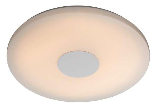 Deckenleuchte NAOMA, Metall, dimmbar, mit Fernbedienung, inkl. Leuchtmittel