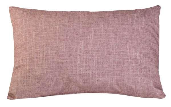 Kissen Sofakissen Dekokissen, Rose, 40 x 60 cm, mit Reißverschluss