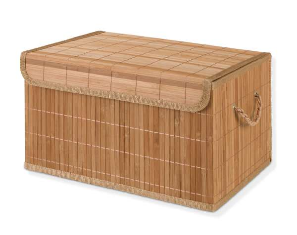 Aufbewahrungsbox MOHAN 2, Bambus natur, 38x28x22 cm