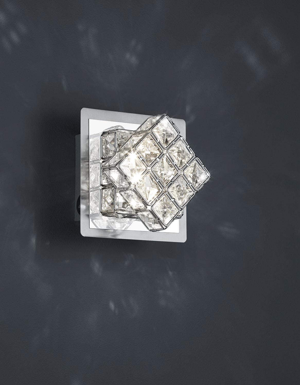 Wandleuchte GRANDEUR 3, 13x13 cm