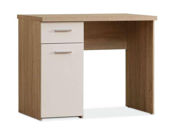Schreibtisch, Weiß matt