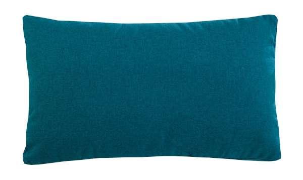 Kissen, Zierkissen SUNDAY 13, petrol, soft, 30x50 cm