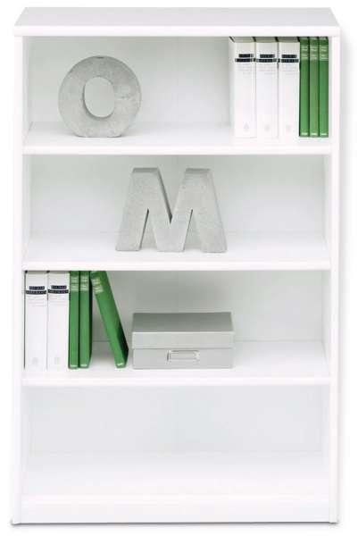 Bücherregal SARA 4, Reinweiß