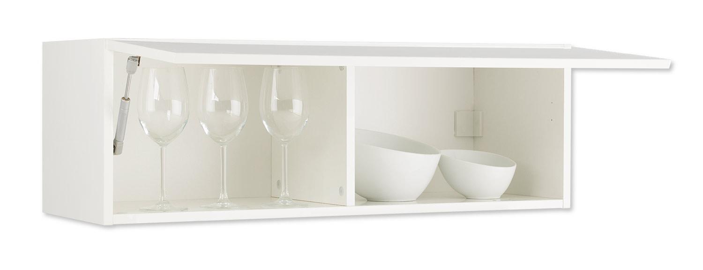 k chen h ngeschrank wei hochglanz. Black Bedroom Furniture Sets. Home Design Ideas
