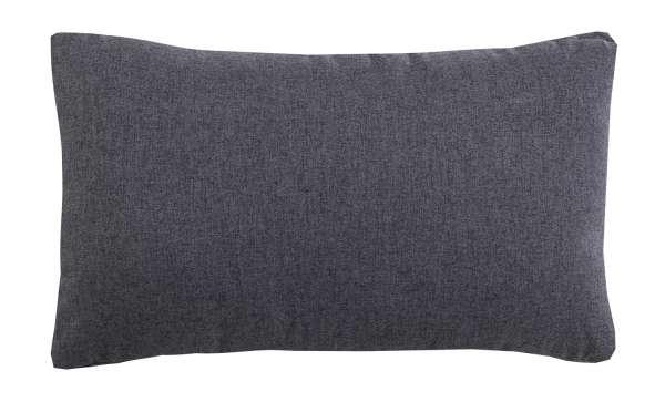 Kissen, Zierkissen, grau, soft, 30x50 cm
