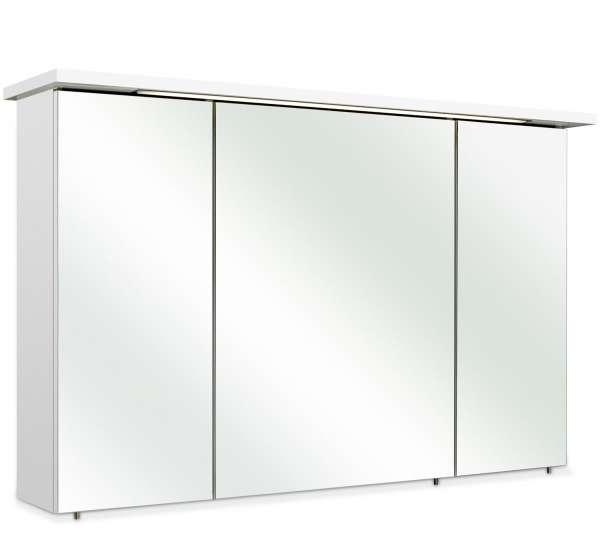 Spiegelschrank AURELIO, Weiß Hochglanz