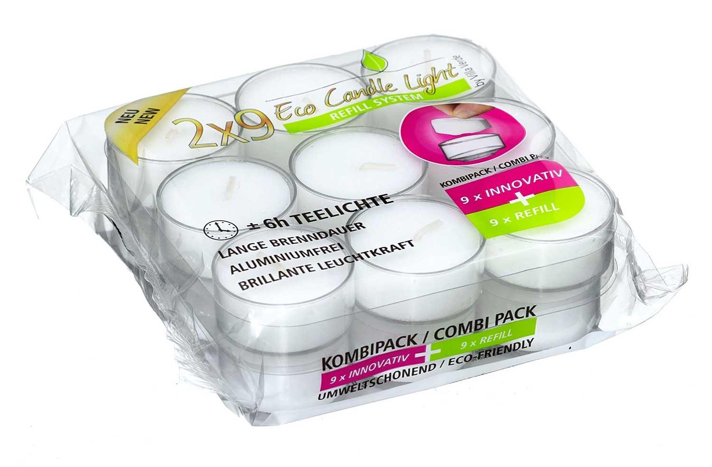 Teelichter 18er Kombipack   002852007403000