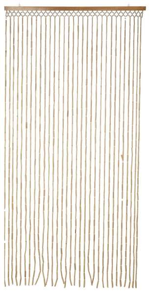 Bambus-Türvorhang