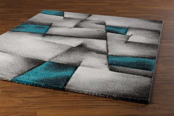 Teppich BRILLIANCE 21, Türkis, 160x230 cm