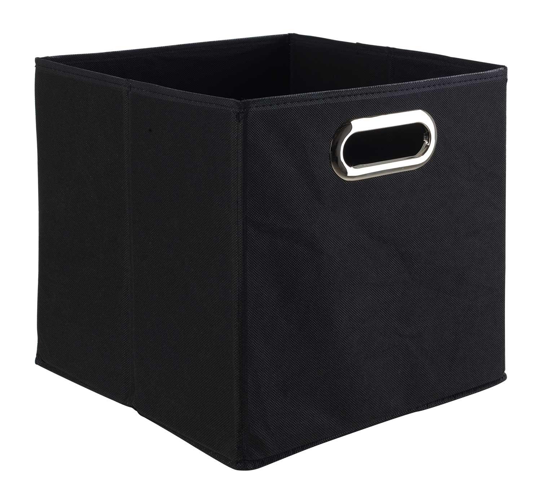 aufbewahrungsbox aus stoff in schwarz faltbar nino 2 m bel jack. Black Bedroom Furniture Sets. Home Design Ideas