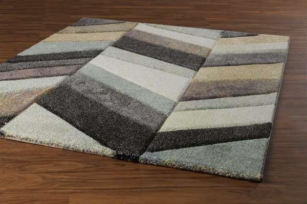 Teppich BELIS ESSENCE 1, Braun-Beige-Grau, 160x230 cm