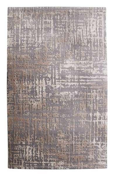 Teppich RELIEF 3, B 80 x 150 cm, Grau, Reliefmuster