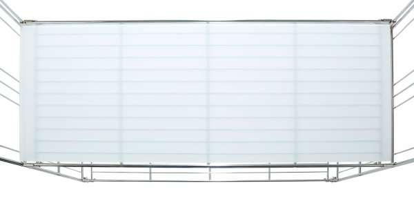 Milchglasplatte LOTTE 3, 85x38 cm