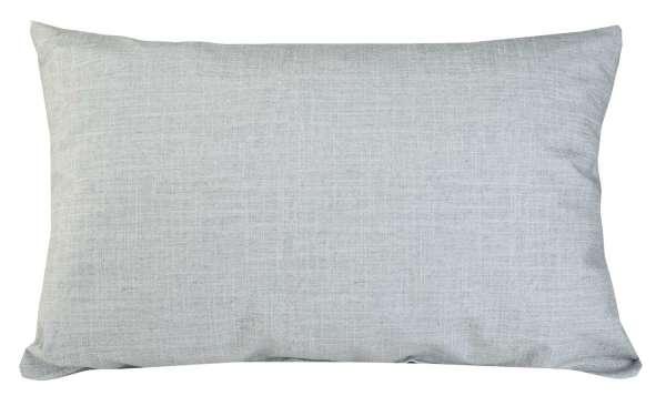Kissen Sofakissen Dekokissen, Silberfarben, 40 x 60 cm, mit Reißverschluss