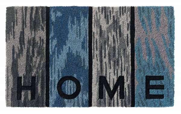 Fußmatte Schmutzfangmatte RUCO STYLE 2, Grau Home B 45 x L 75 cm