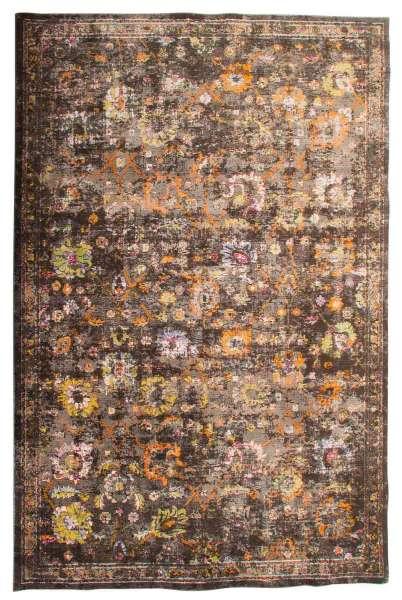 Teppich braun - Polyester - 133 x 190 cm