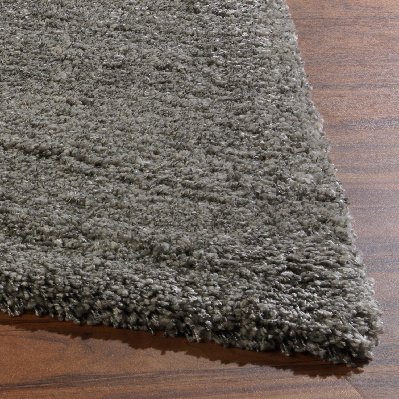 Teppich SHAGGY DELUXE , silberfarbig, 160x225 cm