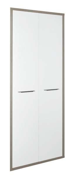Türenset DELA 3, Hochglanz Weiß, 75x210 cm