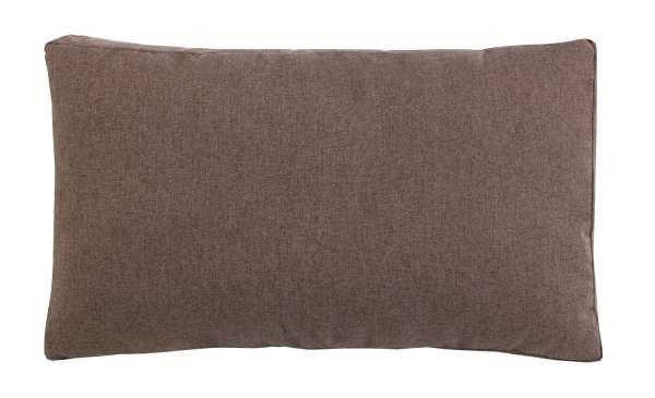 Kissen, Zierkissen SUNDAY 1, braun, soft, 30x50 cm