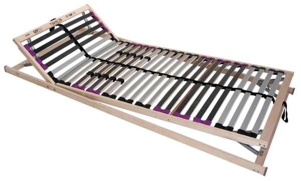 Lattenrost TWIN 1, 28 Federholzleisten, 100x200 cm
