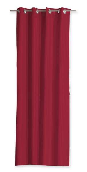 Vorhang Ösenschal Ösenvorhang TIM 2, 140x240 cm, Rot Polyester