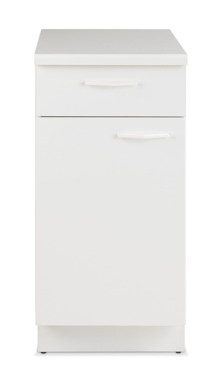 Unterschrank TIMMI 1, Weiß matt