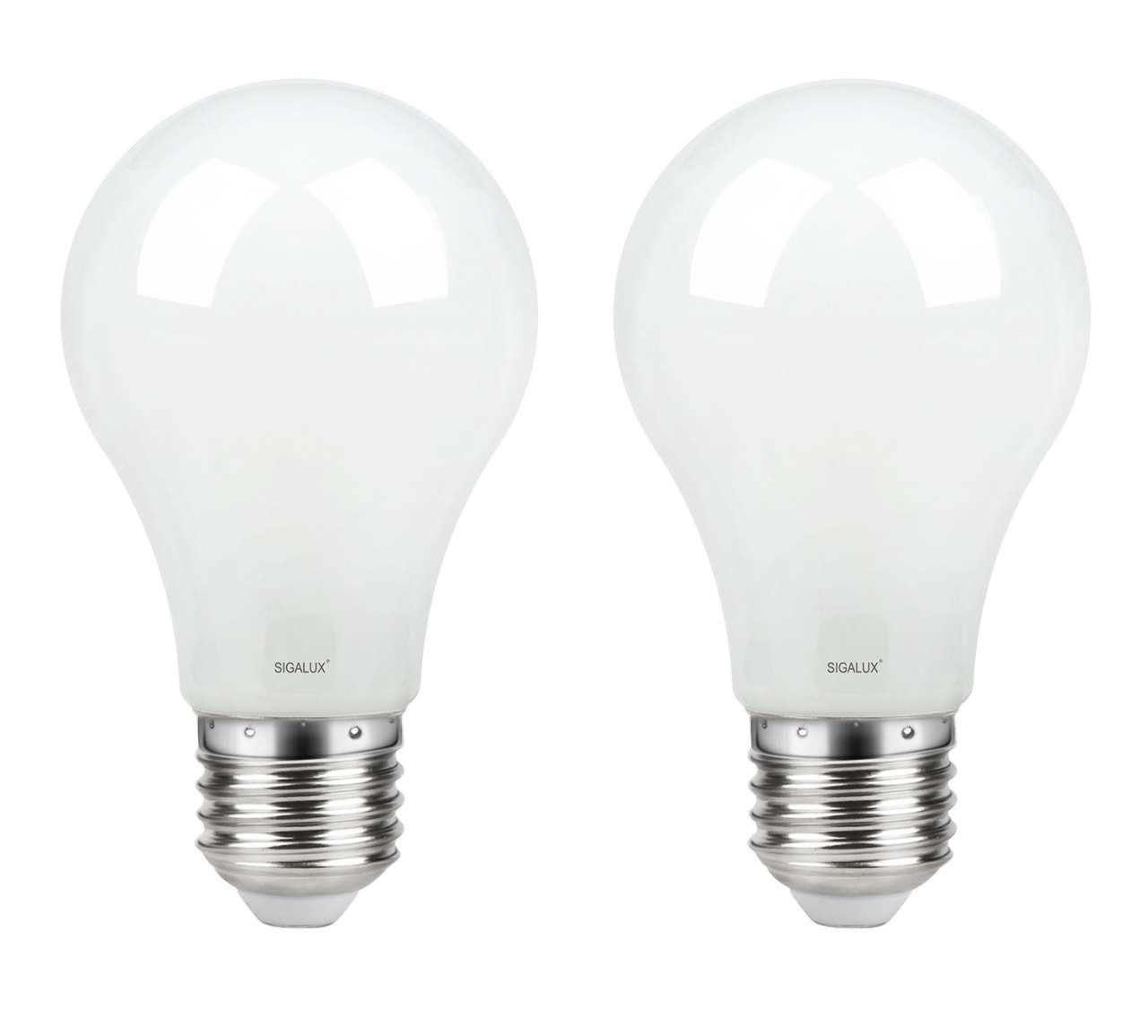 moebel-jack.de 2er-Set LED-Lampe CORALIE 1, E27, 470 Lumen, 2700 Kelvin, EEK A+